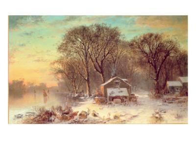 Winter in Malden, Massachusetts, 1864