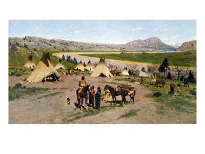 In the Foothills of the Rockies, 1898