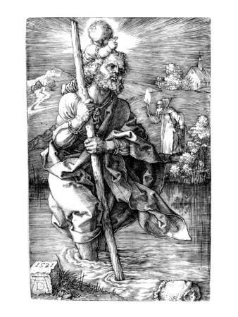 St. Christopher Facing Right, 1521