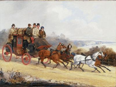 The Dover to London Coach: in Summer