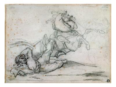 Mameluke Falling Beneath His Horse
