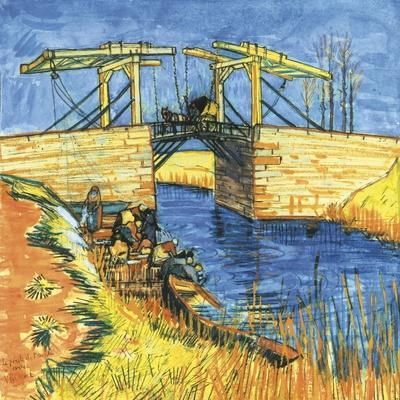 Le Pont De Langlois a Arles, 1888
