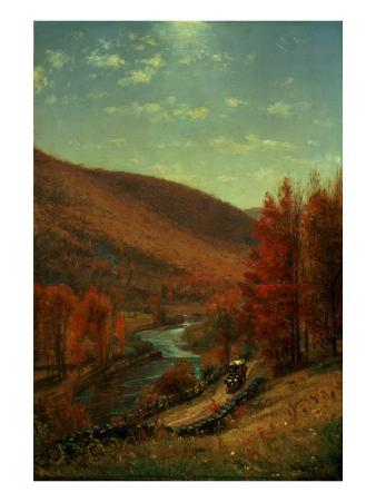 A Road Through Belvedere, Vermont