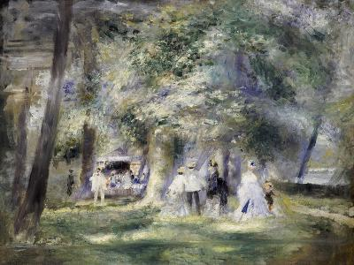 In the Park at Saint-Cloud, 1866