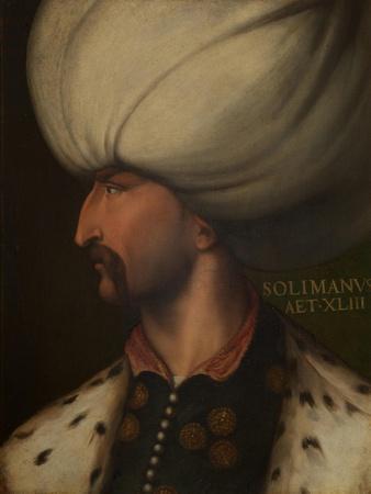 Portrait of Suleiman the Magnificent