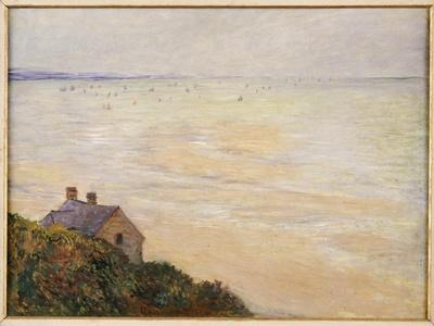 The Hut at Trouville, Low Tide, 1881