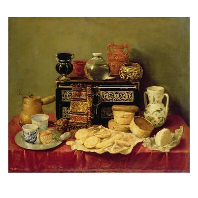 Still Life with an Ebony Chest, 1652