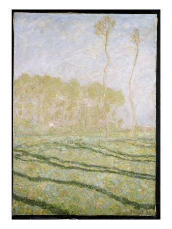 Spring Countryside at Giverny, 1894