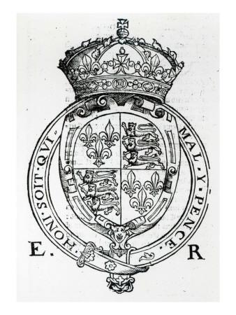 Coat of Arms of Queen Elizabeth I