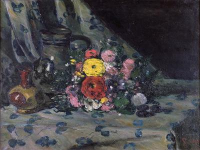 Bouquet of Yellow Dahlias, C.1873