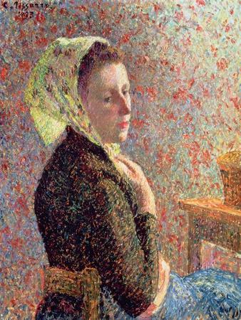 Woman Wearing a Green Headscarf, 1893