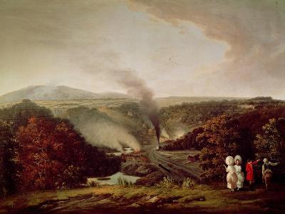 Afternoon View of Coalbrookdale, 1777
