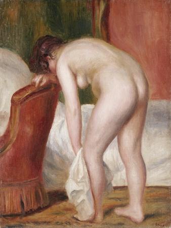 Female Nude Drying Herself, C.1909