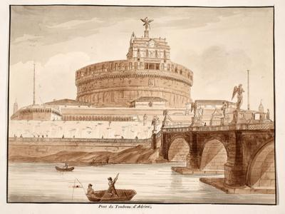 The Bridge of Hadrian's Tomb, 1833