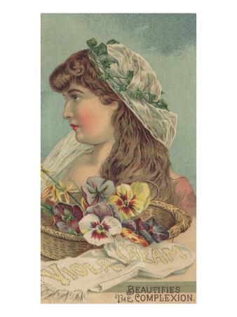 Advertisement for Viola Cream, C.1890