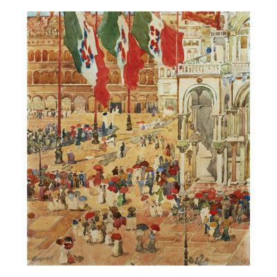 The Piazza of St. Marks, Venice