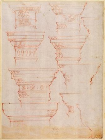 W.18V Study of Column Capitals