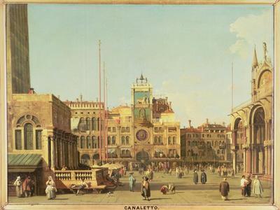 The Piazza Di San Marco, Venice