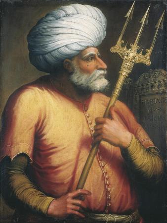 Portrait of Khair Ed-Din, C.1550