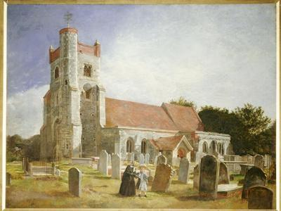 The Old Church, Ewell, 1847