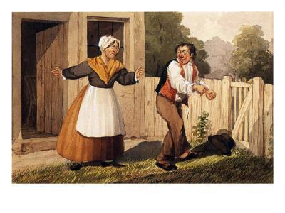 The Drunken Husband, C.1818