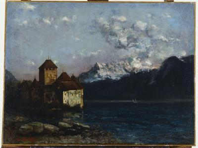 The Chateau De Chillon, 1877