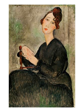 Portrait of Dedie Hayden, 1918
