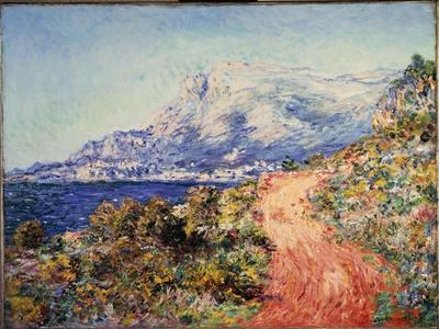 The Red Road Near Menton, 1884