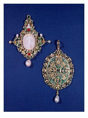 Two Renaissance Pendant Jewels