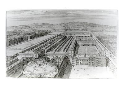 The Prospect of Grays Inn, 1720