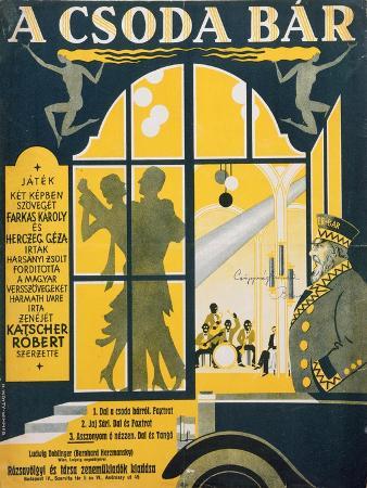 'The Marvellous Bar', C.1910