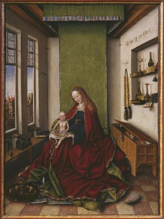 Virgin and Child with a Book