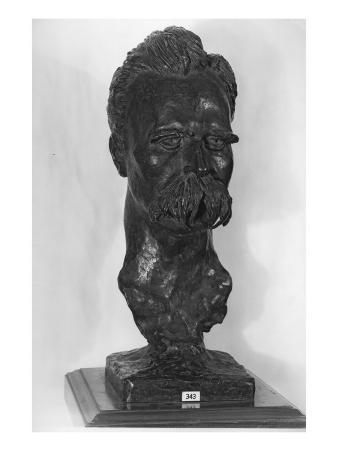 Bust of Friedrich Nietzsche
