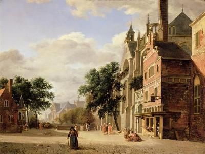 A Capriccio of a Town Square