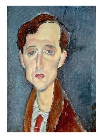Portrait of Franz Hellens, 1919