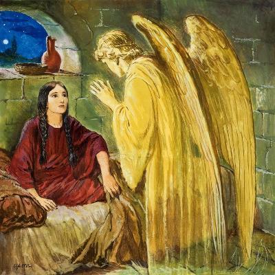 The Angel with Wonderful News