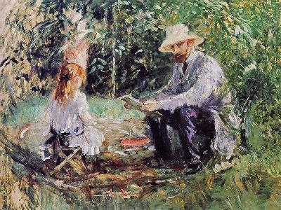 Julie and Eugene Manet, 1883