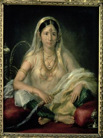 Portrait of a Mogul Lady, 1787
