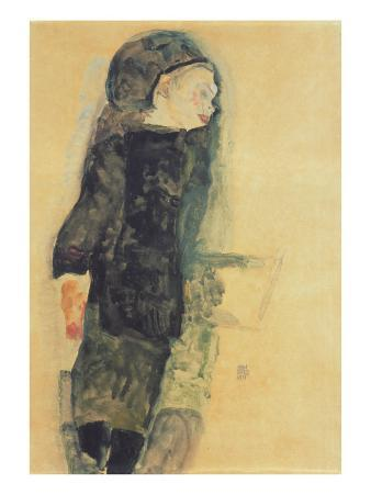 Child in a Black Dress, 1911