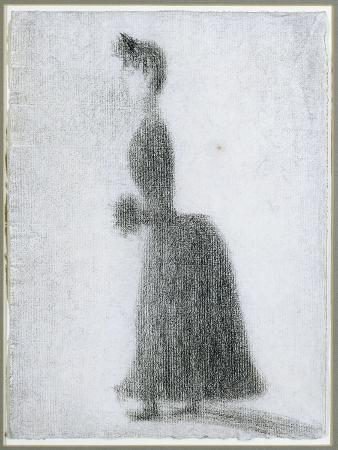 The Walker with a Muff, C.1884