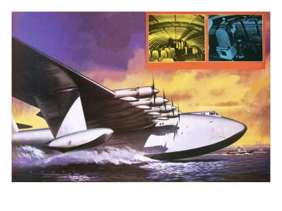 The Spruce Goose Flying Plane