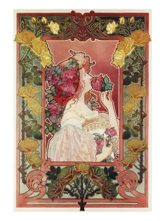 The Scent of a Rose, C.1890