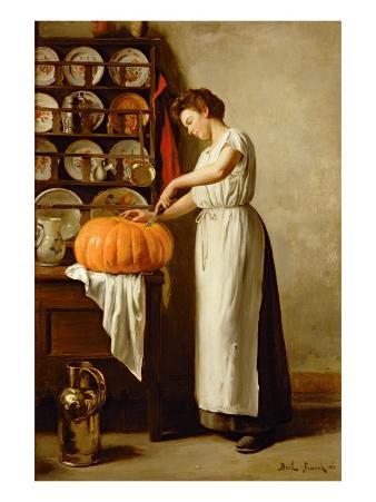 Cutting the Pumpkin, 1910