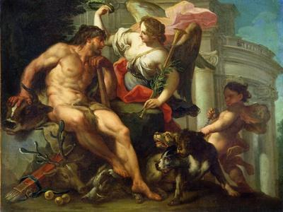 Hercules Crowned by Fame