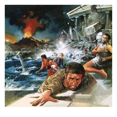 Destruction of Atlantis