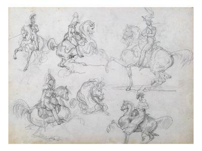 Riders on Prancing Horses