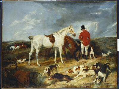 Hunters and Hounds, 1823