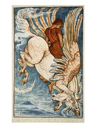 Bellerophon on Pegasus
