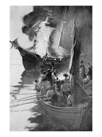 Burning of the 'Gaspee'