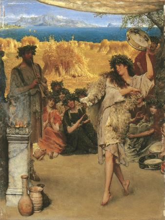 A Harvest Festival, 1880